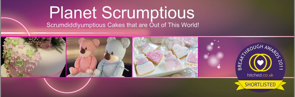 Planet Scrumptious - Delicious Sugarcraft cakes that are Out Of This World!